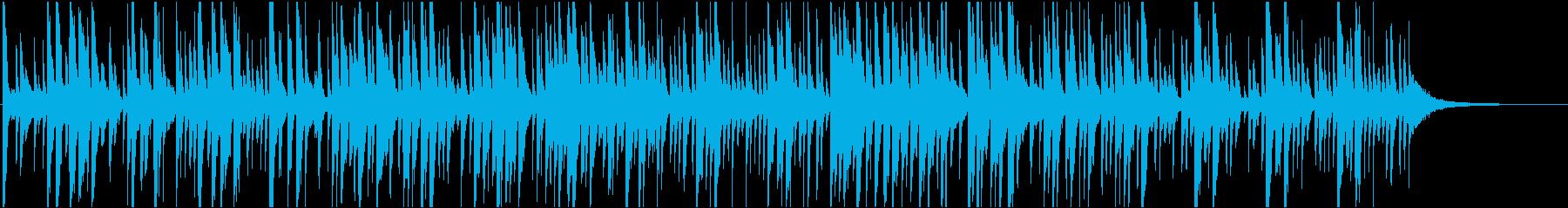 爽やか映像に キース風洗練ピアノジャズの再生済みの波形