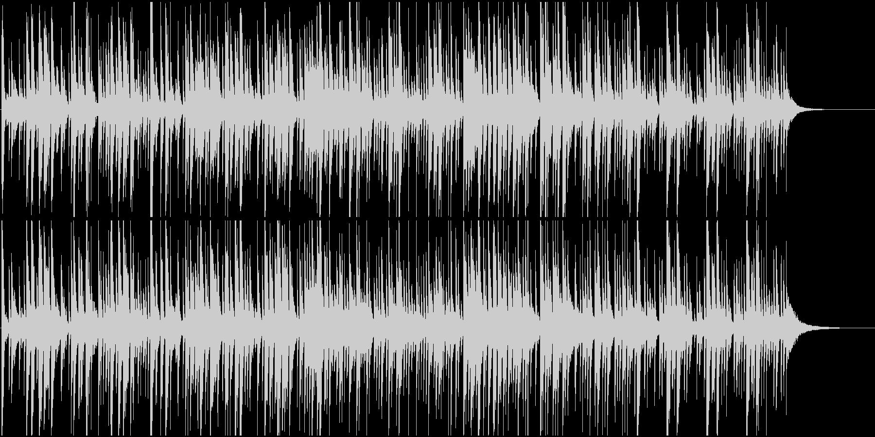 爽やか映像に キース風洗練ピアノジャズの未再生の波形