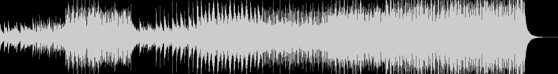 フューチャーポップ風BGMの未再生の波形