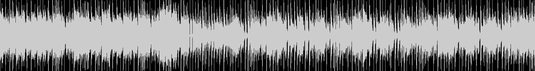 和楽器によるポップなEDM・ループ版の未再生の波形