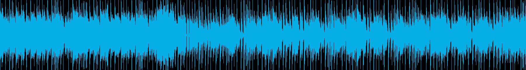 和楽器によるポップなEDM・ループ版の再生済みの波形
