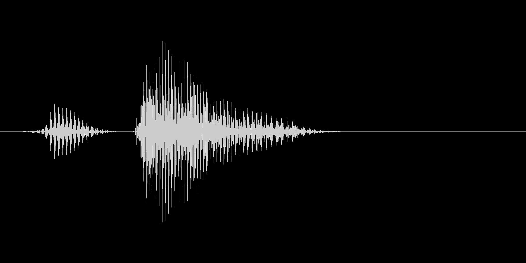 リタイアの未再生の波形