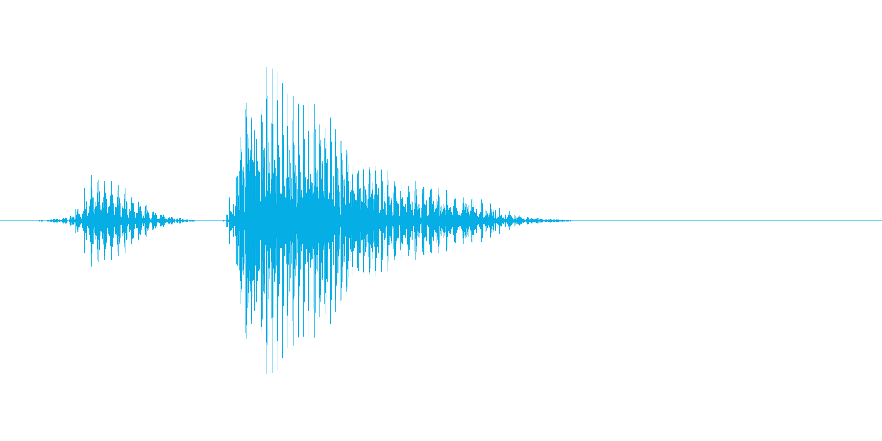 リタイアの再生済みの波形
