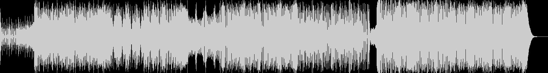重低音系のTrap&Bassの未再生の波形