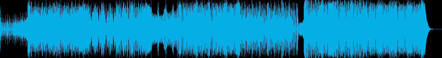 重低音系のTrap&Bassの再生済みの波形