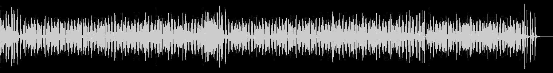 ほのぼのチャレンジ(ピアノ&カウベル)の未再生の波形