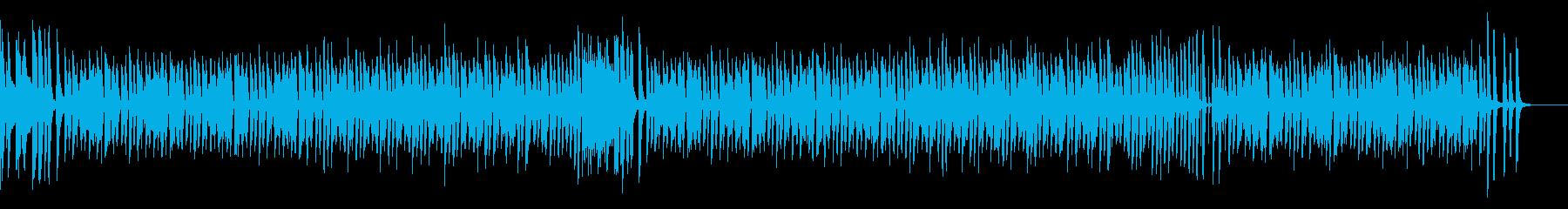 ほのぼのチャレンジ(ピアノ&カウベル)の再生済みの波形