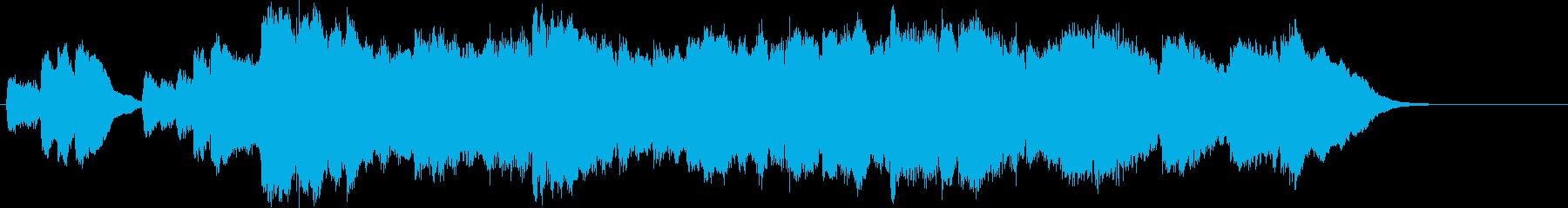 ゆったりと上品なバラードの再生済みの波形