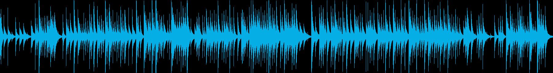 G線上のアリアのオルゴールアレンジの再生済みの波形