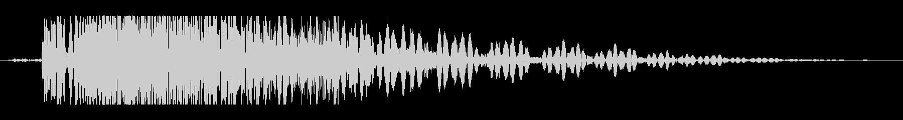 ドアブレイク;ガタガタとガタガタ音...の未再生の波形