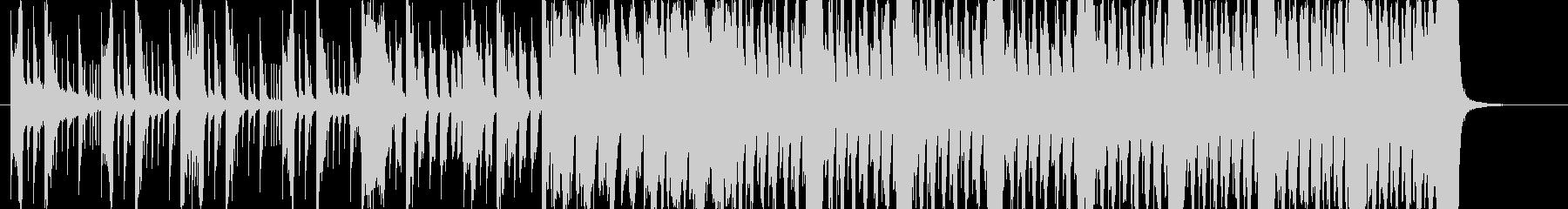 激しい和風EDM 侍サムラEDMショートの未再生の波形