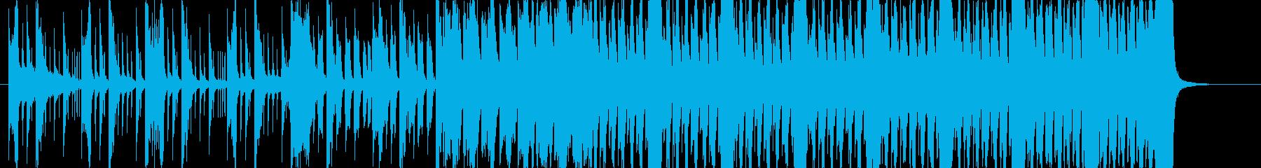 激しい和風EDM 侍サムラEDMショートの再生済みの波形