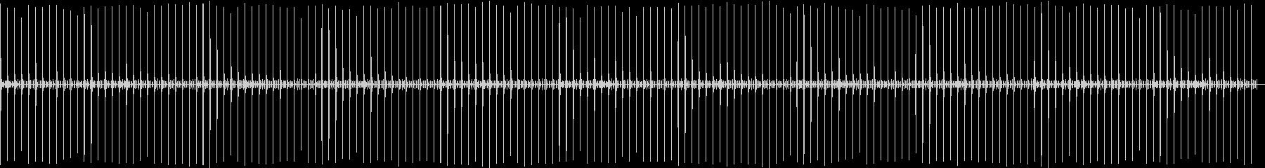 秒針エフェクト01の未再生の波形