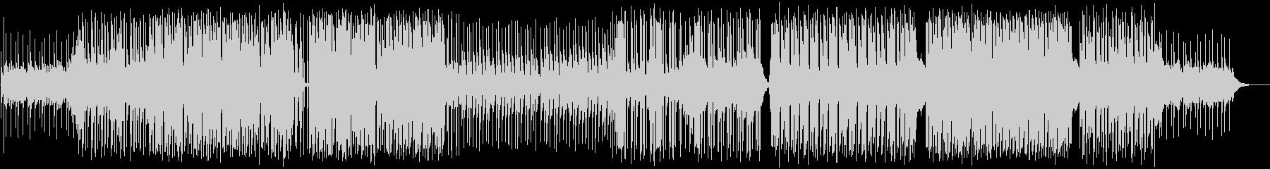 YMO風シンセ遊び。ゆったりとしたBGMの未再生の波形