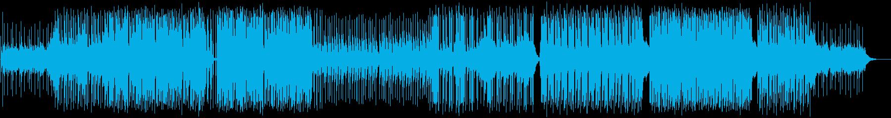 YMO風シンセ遊び。ゆったりとしたBGMの再生済みの波形