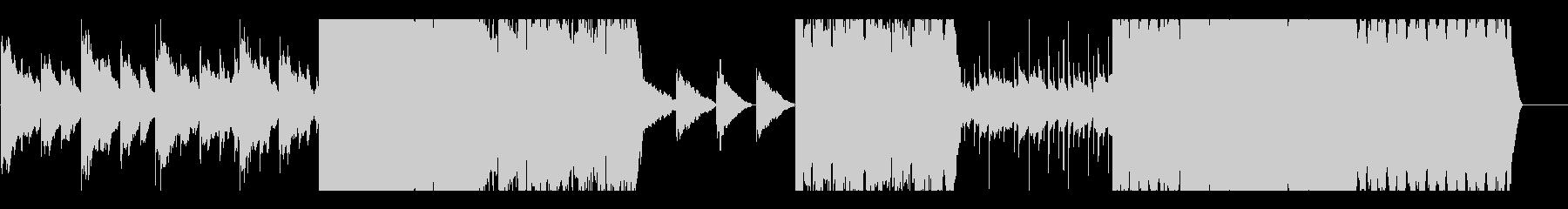 キレイめストリングスのBGMの未再生の波形