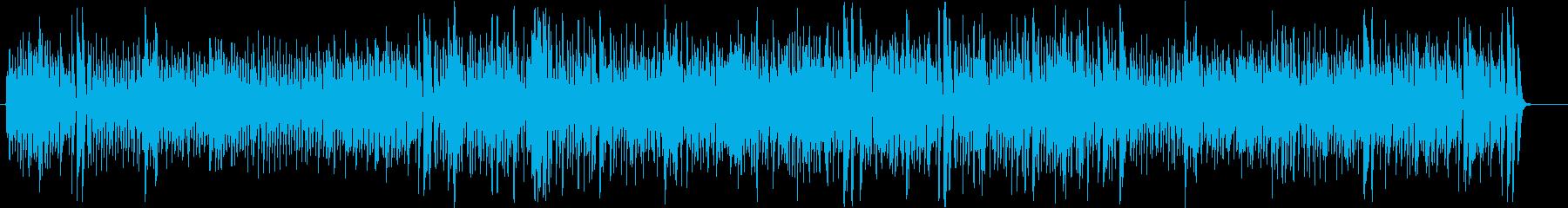 コミカル・大忙しなフランスジャズ※伴奏版の再生済みの波形