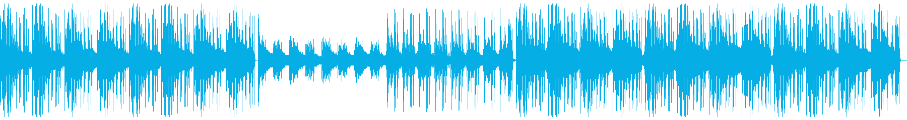 ミステリアスな夜をイメージした曲です。の再生済みの波形