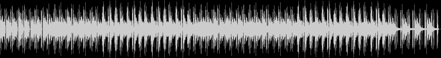 ノスタルジックなチルピアノローファイの未再生の波形