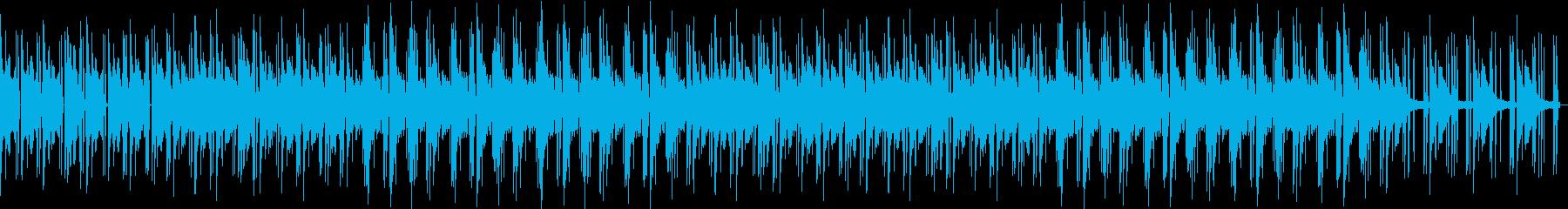 ノスタルジックなチルピアノローファイの再生済みの波形