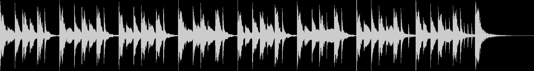 十五秒の考える時間のジングルの未再生の波形