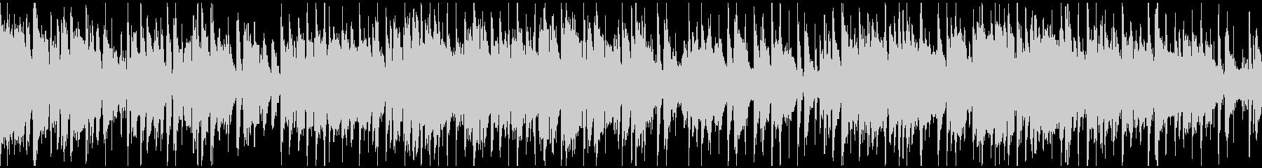 ソプラノサックス、クラブジャズ※ループ版の未再生の波形