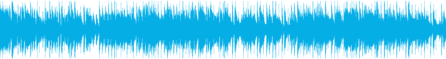 ソプラノサックス、クラブジャズ※ループ版の再生済みの波形