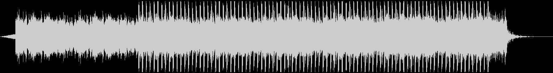 アップビート動機付け音楽(短)の未再生の波形