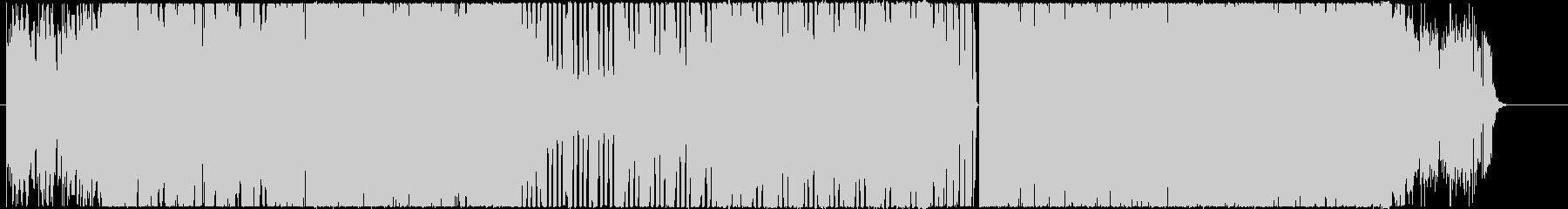 切なく力強いシンセサイザーEDMの未再生の波形