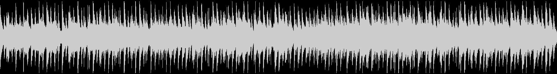 のほほん日常系のゆるいウクレレ※ループ版の未再生の波形