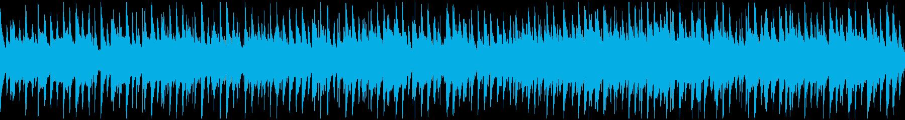 のほほん日常系のゆるいウクレレ※ループ版の再生済みの波形