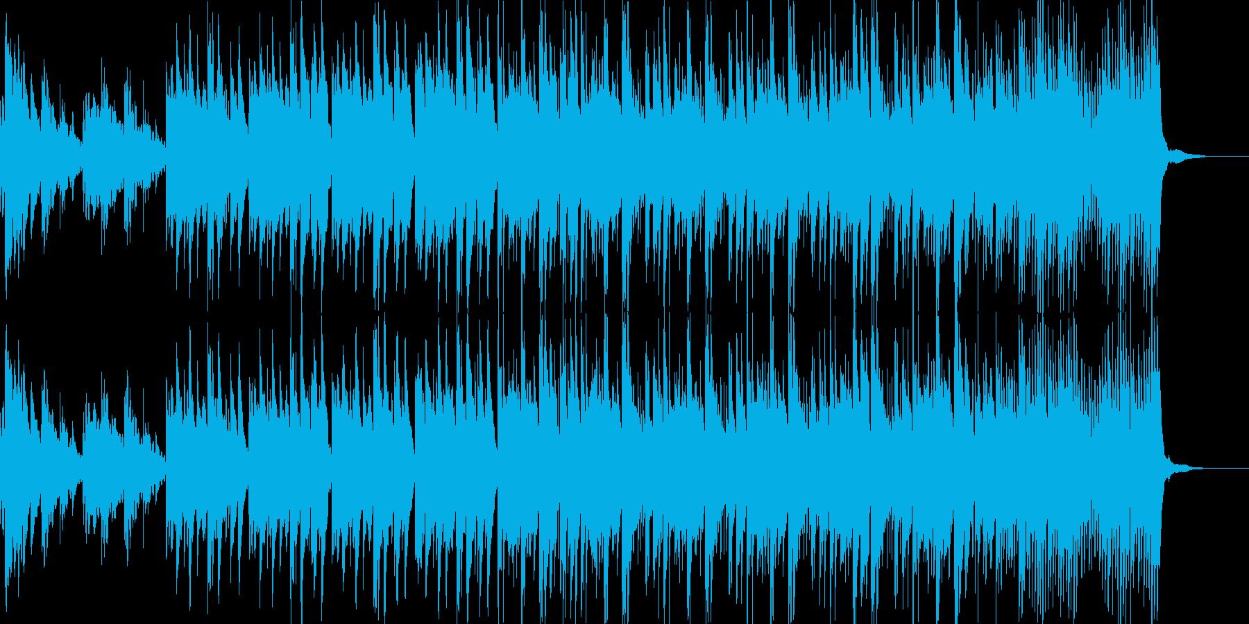子供部屋の再生済みの波形