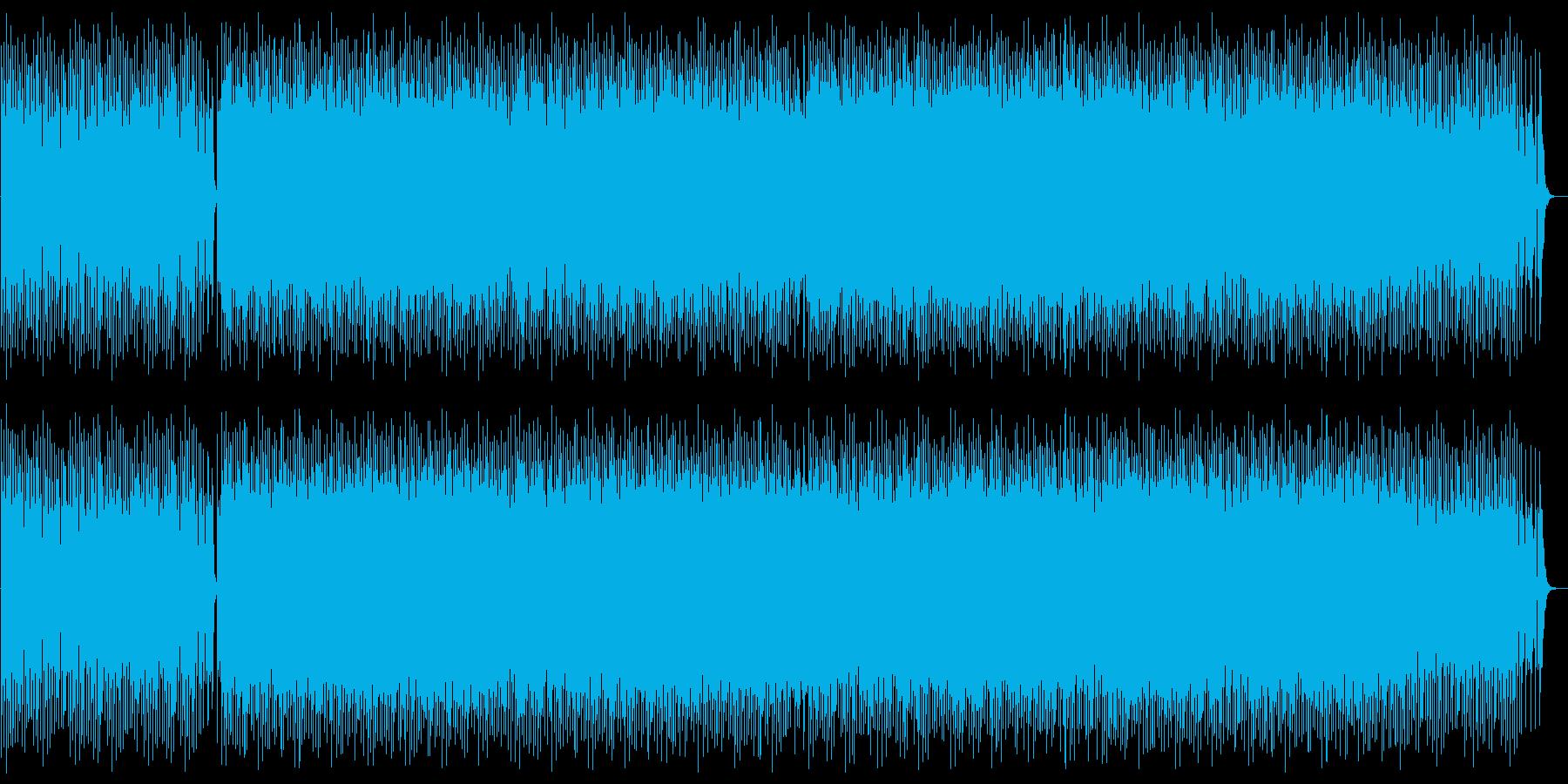 ミステリアスでダークなメロディーの再生済みの波形