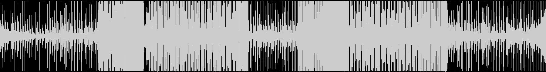 トロピカルハウス系の曲です。の未再生の波形