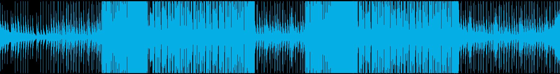 トロピカルハウス系の曲です。の再生済みの波形