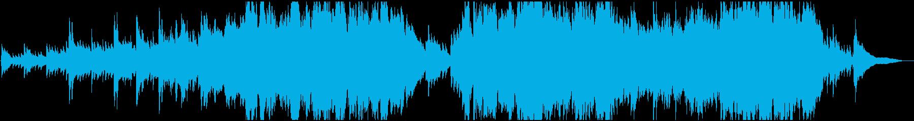 現代の交響曲 企業イメージ 感情的...の再生済みの波形