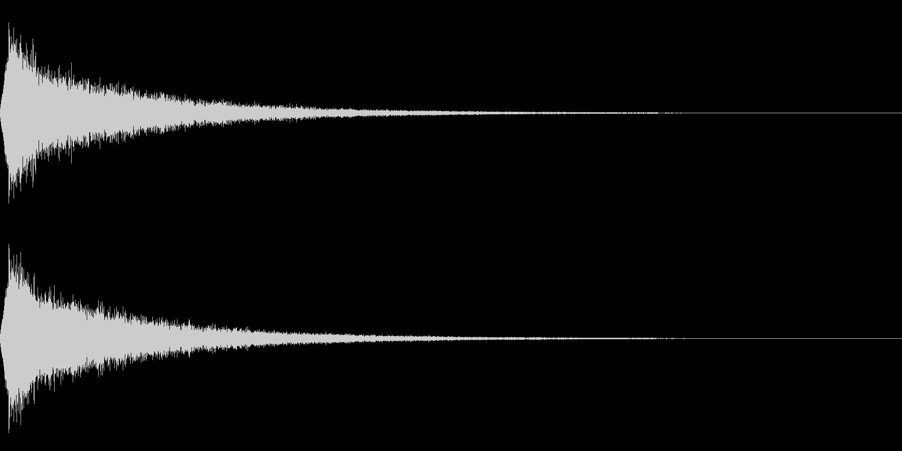 TVFX 映像向け目立たせ・ブレーク 4の未再生の波形