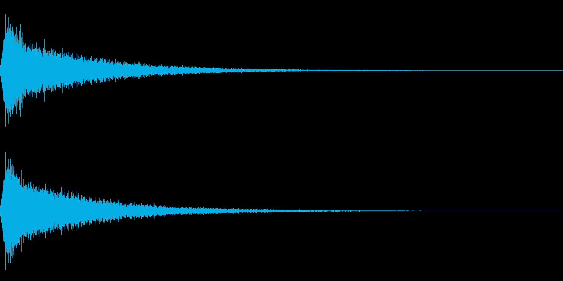 TVFX 映像向け目立たせ・ブレーク 4の再生済みの波形