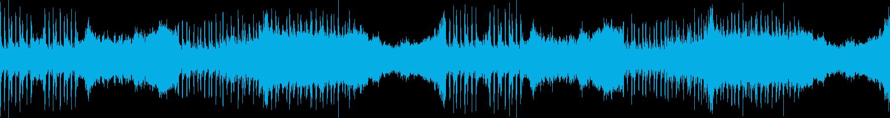 帝国の支配や威厳をイメージした曲の再生済みの波形