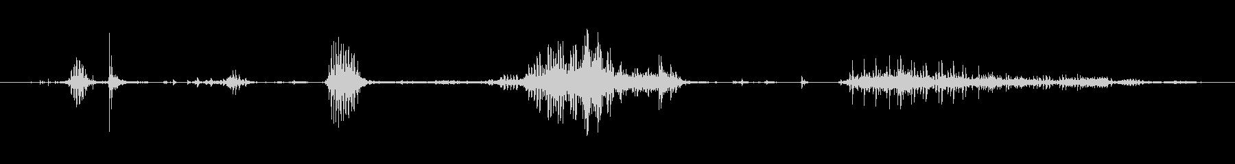 犬 チワワスナールファイトソフト04の未再生の波形