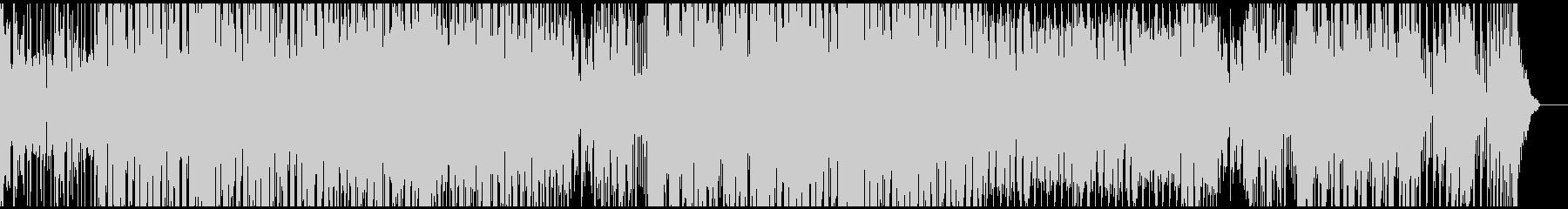 派手でノリの軽いEDMの未再生の波形