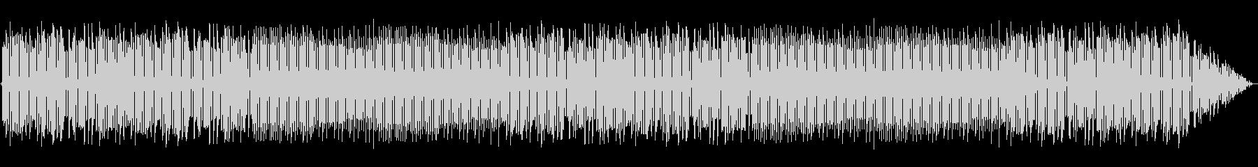 ファミコン風な明るめのループBGMの未再生の波形