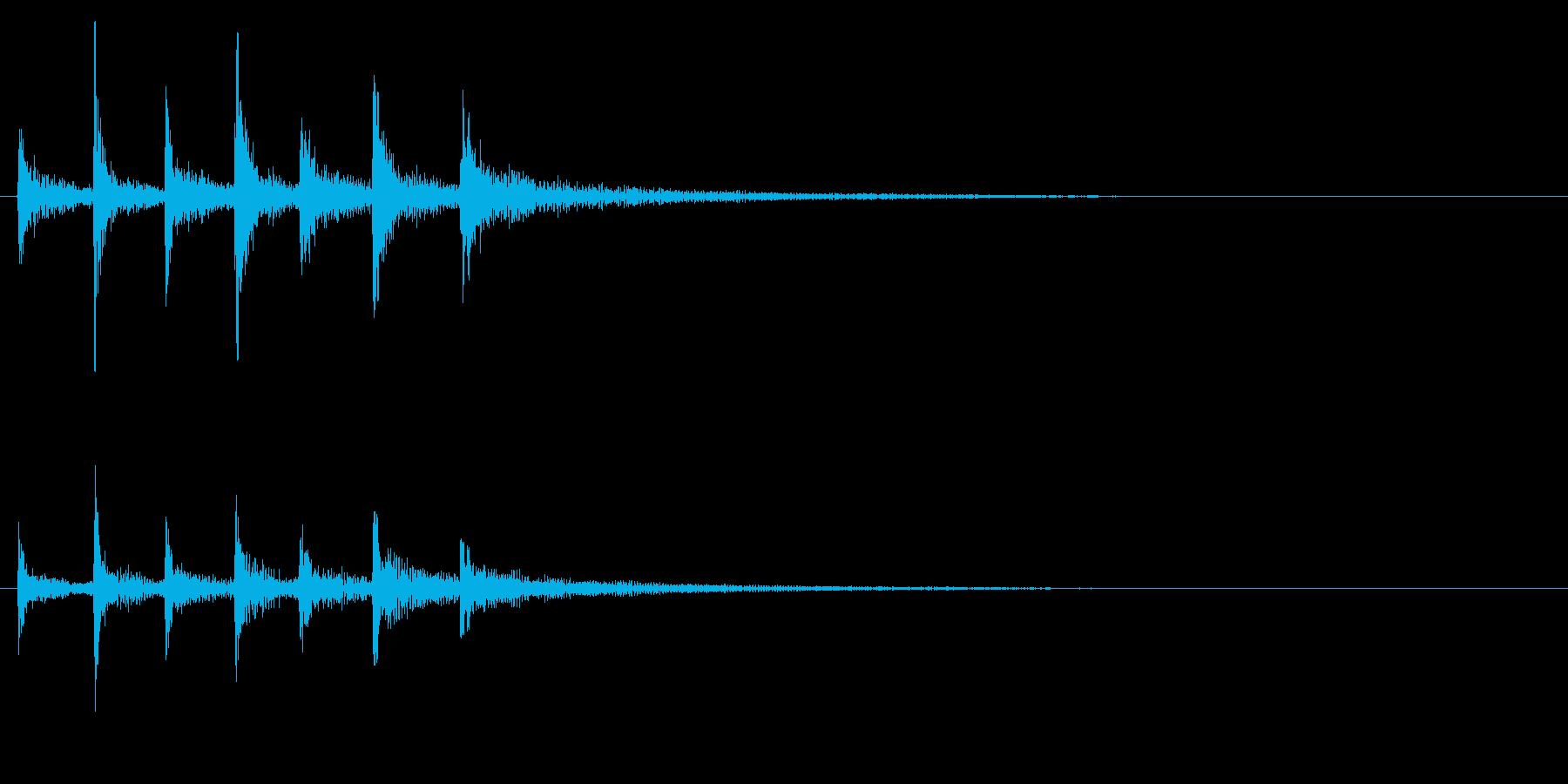 ティンパニ、(手)、スローシンフォ...の再生済みの波形