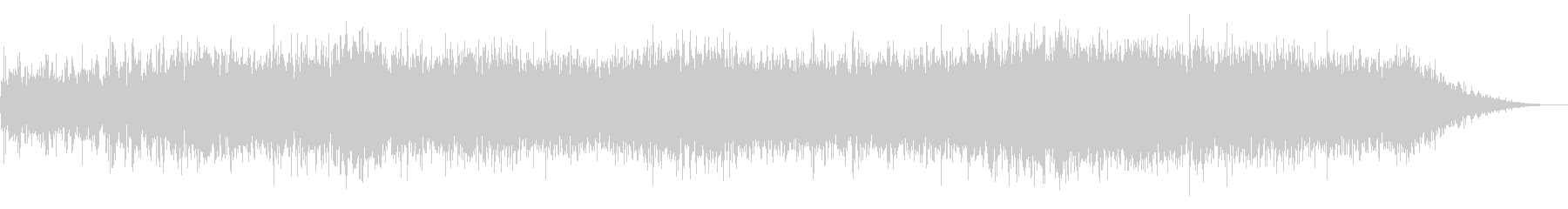 Noise sound source 15 that seems to appear in horror films's unreproduced waveform