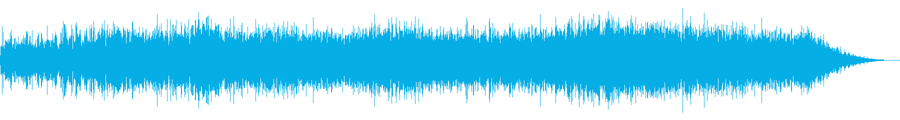 Noise sound source 15 that seems to appear in horror films's reproduced waveform
