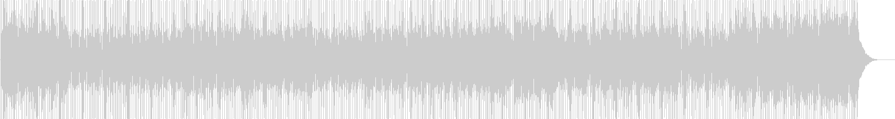 テレビのバックグラウンドミュージッ...の未再生の波形