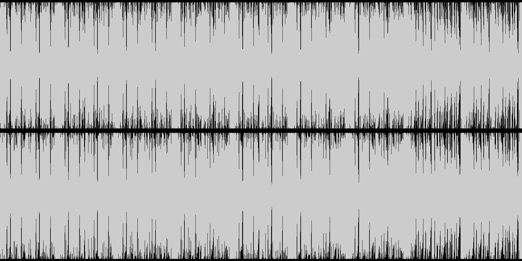 ループ:疾走感溢れるEDMの未再生の波形