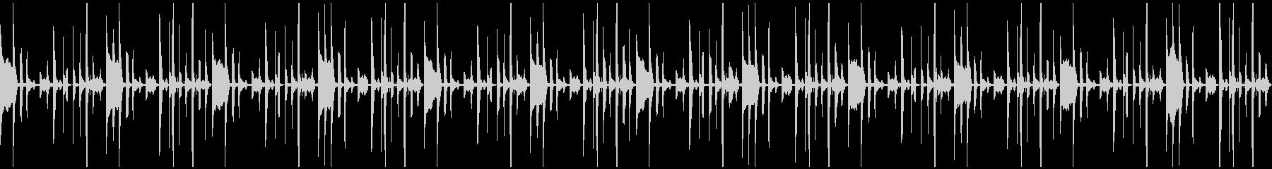 トーク、会話の背景用BGM(ループ)の未再生の波形