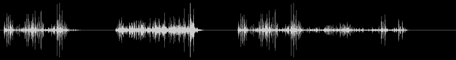 ウィングフラップ-3つの効果;ラピ...の未再生の波形