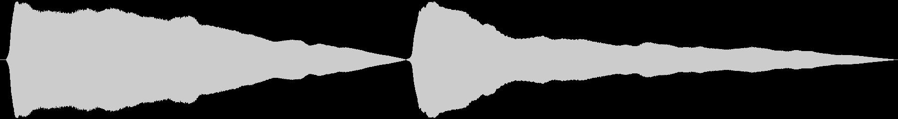 とうふ屋ラッパ(早めトゥ~フゥ~)の未再生の波形